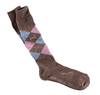 USG's »Original Sockies« cappucino/light blue/rose